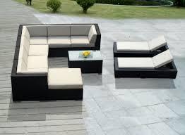 chaise pc amazon com genuine ohana outdoor sectional sofa and chaise lounge