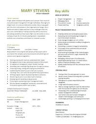 Project Manager Resume Sample It Interview Winning Construction