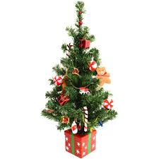 Small Pre Lit Decorated Christmas Trees Collection Of Tree Ideas