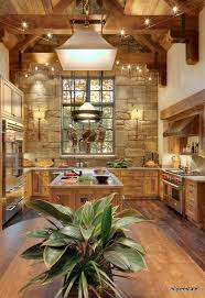 Rustic Log Cabin Kitchen Ideas by Best 25 Rustic Kitchens Ideas On Pinterest Rustic Kitchen