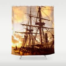 pirate shower curtains