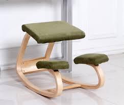Balans Kneeling Chair Australia by Original Ergonomic Kneeling Chair Stool Wood Posture Support