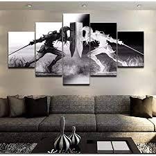 xlst wandkunst wikinger bilder home decor 5 stücke legend of leinwand malerei wohnzimmer hd gedruckt spiel