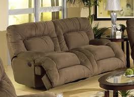Microfiber Sofas And Cats by Jackpot Power Reclining Chaise Sofa In Coffee Microfiber Fabric By