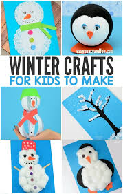 Fun And Easy Winter Crafts For Kids To Make