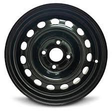 100 14 Inch Truck Tires Amazoncom Hyundai Accent Inch 4 Lug Steel Rimx55 4100