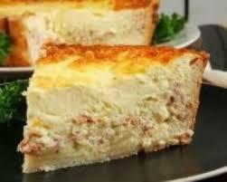 tarte sucree sans pate recette quiche sans pâte aux lardons