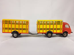 100 Cattle Truck Renault 2500 Kgs And Trailer Model Vehicle Sets HobbyDB