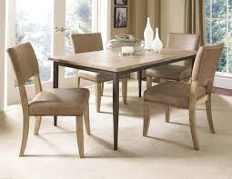 leather dining chairs with nailheads traditional open plan kitchen