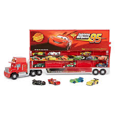 Disney Collection Cars Mack Truck And 10 Car Die Cast Carrier ... Mack Truck Transformer Unpacking The Toy From Disney Pixar Cars Transporter Playset Jual Terbaru Diecast Truk Konstruksi Disney Cars Mack Hauler Buy Toys In India 360146 3 Simulator Ebay Mummy Hearts Money Giveaway Disneypixar Fun Zone At V8s Pixar Truck Playset Hauler Lorry Amazoncom Diecast Oversized Vehicle Toys Tour Is Back To Bring More Highoctane Fun Rc Turbo Brands Shop Hit By Train Lightning Mcqueen Tow Mater Stunt Racers