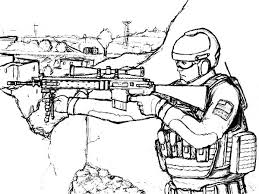Awesome Military Coloring Pages Gallery Printable