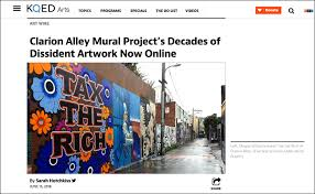Clarion Alley Mural Project Address by Megan Wilson Bio