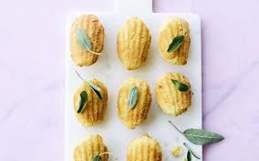 sauge cuisine recettes petites madeleines à la sauge cuisine et recettes recette