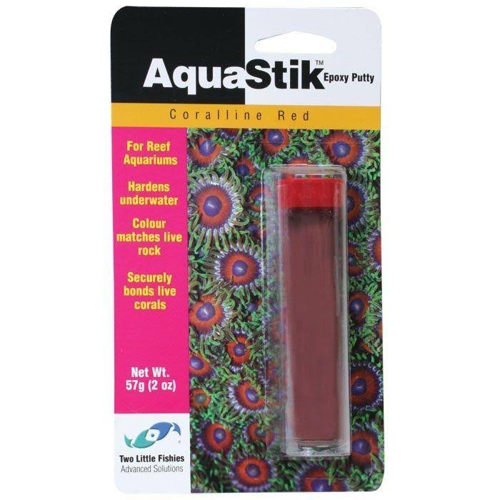 Two Little Fishies AquaStik Underwater Epoxy Putty - Carolline Red