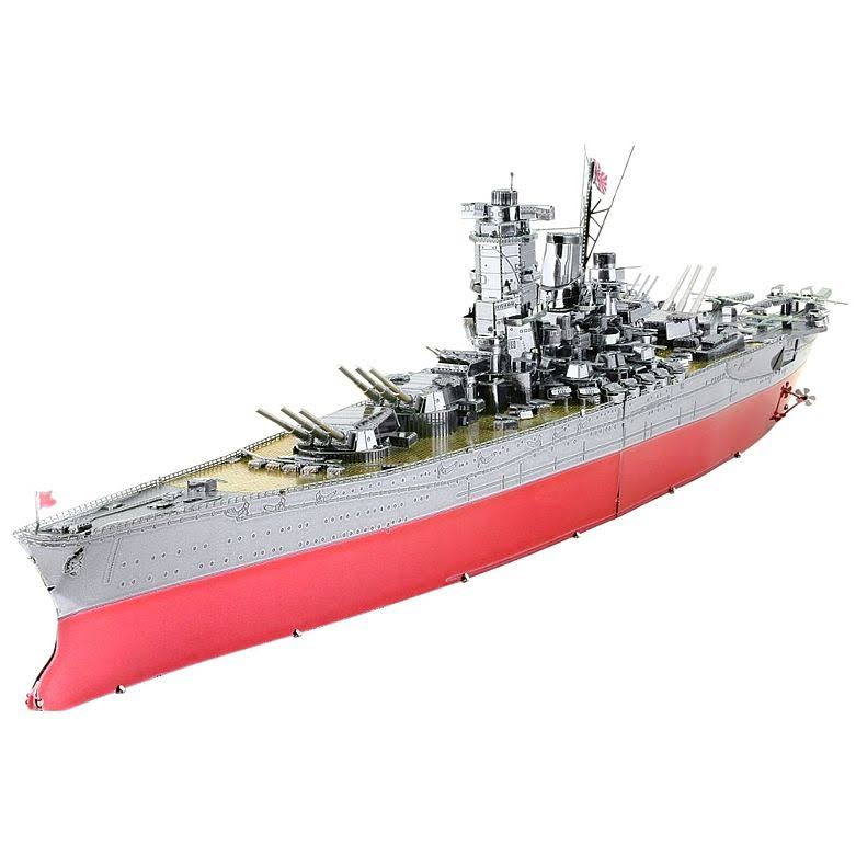 Metal Earth ICONX Yamato Battleship 3D Model Kit