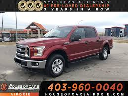 100 Ford 4x4 Trucks For Sale PreOwned 2016 F150 XLT Truck In Calgary TSE58013 House Of