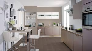 cuisine taupe et gris couleur taupe idee decoration pour associer cette couleur