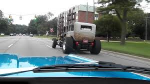 Crazy Half Semi Half Car - Hot Rod Status - YouTube