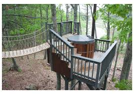 100 Tree Houses With Hot Tubs This Tree House Sanctuary In Maine Fulfills All Childhood Tree