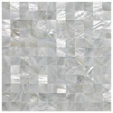 of pearl backsplash wall tiles 12 x 12 polychrome