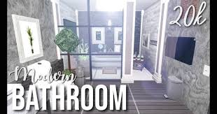 modern bathroom bloxburg 1000 home building design