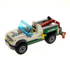 100 Lego City Tow Truck 1 X Brick Model For Set 60081 N Traffic Pickup