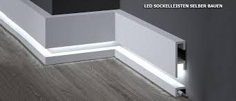 led sockelleisten selber bauen mit led beleuchtung