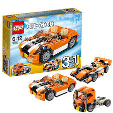 LEGO Creator 31017: Sunset Speeder: Lego: Amazon.co.uk: Toys & Games Lego Creator Mini Fire Truck 6911 Brick Radar Lego Highway Speedster 31006 31075 Outback Adventures De Toyz Shop Vehicles Turbo Quad 3in1 Buy Online In South Rocket Rally Car 31074 Cwjoost Alrnate Model Of Set High Flickr 6753 Transport Itructions Diy Book 1 Youtube Pictures Expert Fairground Mixer Walmartcom Cstruction Hauler 31005 At Low Prices Creator 31022 Toys Planet 2013 Brickset Guide And Database