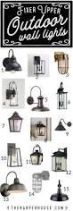 Pottery Barn Outdoor Ceiling Light by Best 25 Outdoor Light Fixtures Ideas On Pinterest Exterior