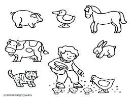 Printable Animal Coloring Pages Farm Animals Free For Ad Zoo