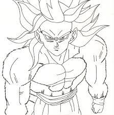Super Saiyan 4 Dragon Ball Z Coloring Pages