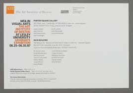 100 Denise Rosselli John Kramer Design AIB MFA In Visual Arts