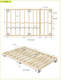 8x10 Shed Plans Materials List by Gambrel Shed Plans Shed Includes A Loft For Extra Storage