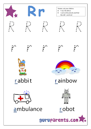 The letter R is one of the most important in English these