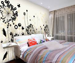 Bedroom Nice Bright Modern Theme Design With Amazing Wall Drawer Plus Inspiring Tile