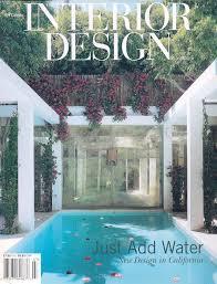 Interior Design Magazine – July 2000