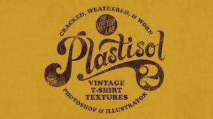 plastisol 2 apply vintage cracked ink textures to your t shirt