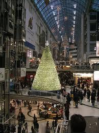 Toronto Eaton Center Crystal Christmas Tree Originally Uploaded By Suellen1111 S