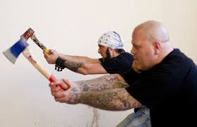 Think Darts Are Girly? Try Axe Throwing | Toronto Star Bad Axe Throwing Where Lives Youtube Think Darts Are Girly Try Axe Throwing Toronto Star Outdoor Batl At In Youre A Add To Your Next Trip Indy Backyard League Home Design Ideas The Join The Moving Into Shopping Mall Yorkdale Latest News National Federation Menu