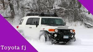 Toyota Fj Cruiser Pulling Truck In Snow 2018 - YouTube