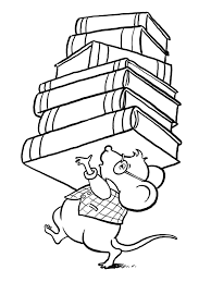 Coloring Pages Of Books Contact Carol Stack