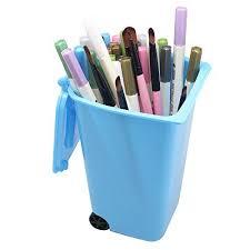rangement stylo bureau 85 homgaty mini poubelle à roulettes pour bien ranger le bureau