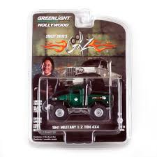 100 Stacey David Trucks GREEN MACHINE 1941 Military 12 Ton 4x4 164 Scale