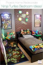 Project Home Redecorate Ninja Turtles Bedroom Ideas