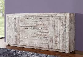 sideboard kommode anrichte antik weiß gewischt 188 5cm neu