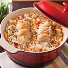 cuisiner un coq coq au porc aux pommes et abricots recettes cuisine et nutrition