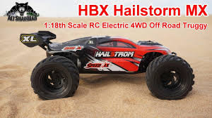 HBX Hailstorm Mini Electric RC 4WD Off Road Truggy - YouTube