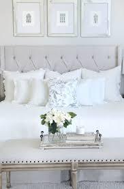 Best White Bedroom Decor Ideas On Pinterest Pillow Arrangement Neutral Bedrooms Furniture