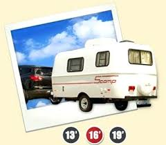 Smallest Camper With Bathroom Lightweight Travel Trailers Small Big