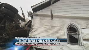 Runaway Truck Hits Church